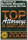 Top Attorney Maryland 2008
