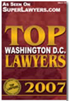 Top Lawyer Washington S.C. 2007