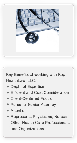 Kopf Health Law | Key Benefits